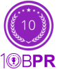 Site badge for all Best PR Firms award winners