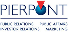 Top Public Relations Company Logo: Pierpont Communications