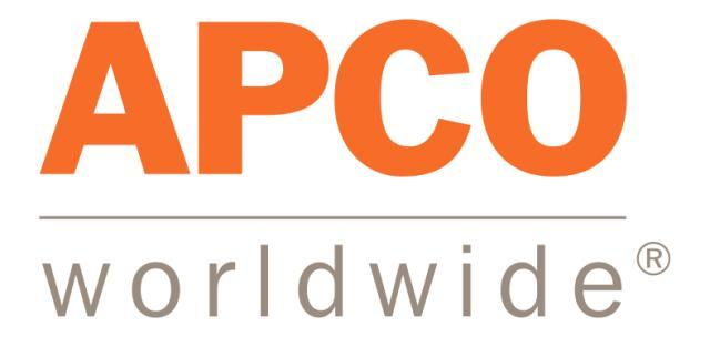 Top Finance Public Relations Agency Logo: APCO Worldwide