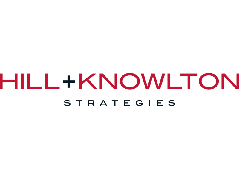 Leading Finance PR Company Logo: Hill+Knowlton Strategies