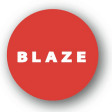Best Los Angeles PR Business Logo: Blaze