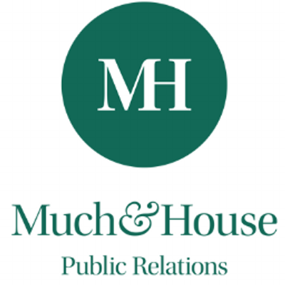 Leading Music PR Company Logo: Much & House