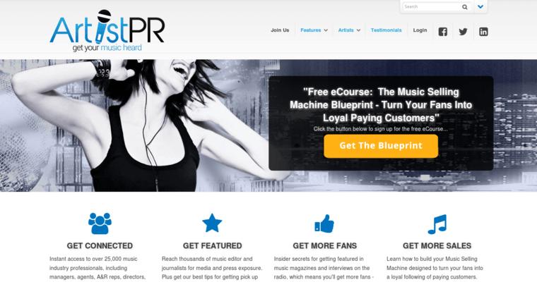 Artist pr best music pr firms artist pr home page malvernweather Choice Image