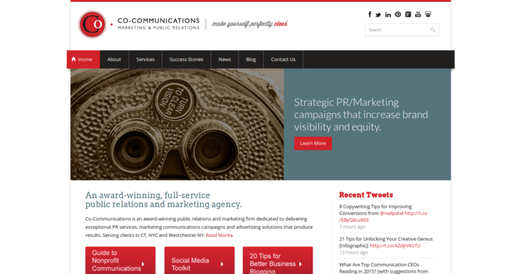 CO-Communications | Top NY PR Agencies | 10 Best PR