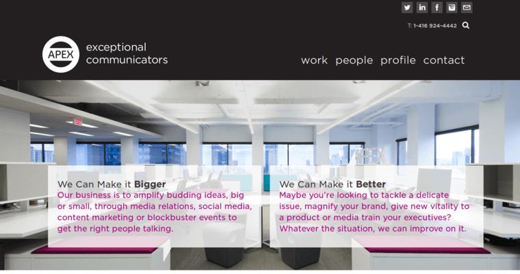 Apex PR   Best Toronto Public Relations Agencies   10 Best PR